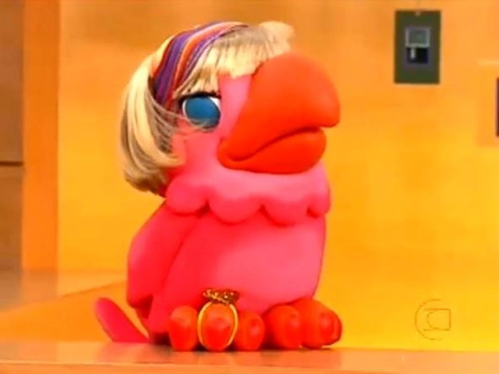 Maria Loura foi personagem criada por Fernanda Young. A prima de Louro José vinha de uma temporada em Nova York, nos Estados Unidos, e  gostava de fofocas e celebridades  Foto: Globo