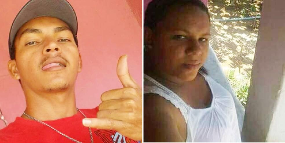Gierle de Lima Soares e Kaline Silva do Nascimento (Foto: Divulgação/PM)