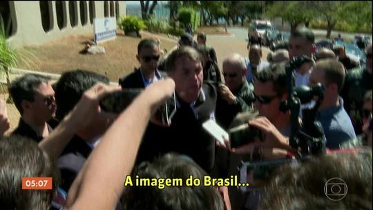 Bolsonaro diz que dinheiro que a Alemanha doava era uma forma do país comprar a Amazônia