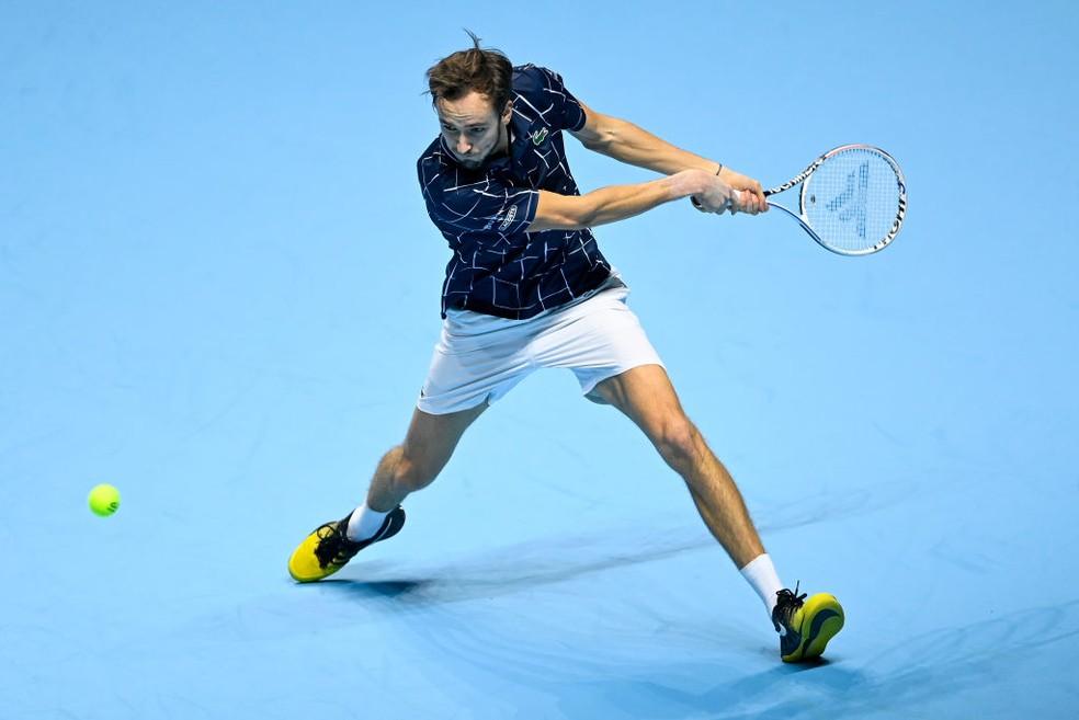 Daniil Medvedev, número 4 do ranking da ATP — Foto: TPN/Getty Images