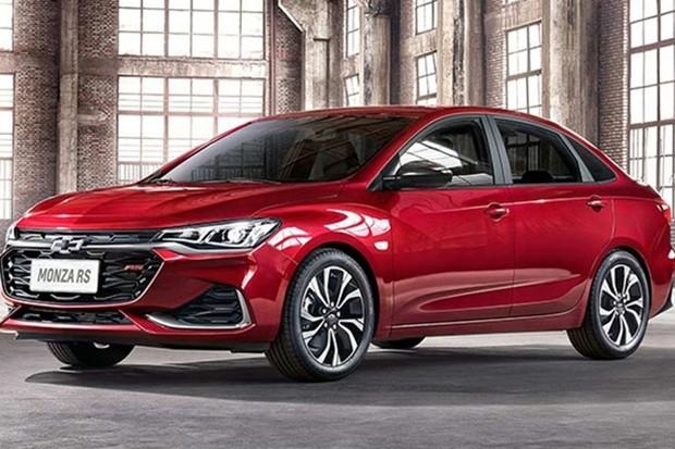 Chevrolet Monza é bem parecido com o Onix Plus  (Foto: Divulgação)