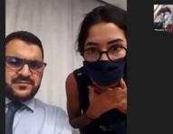 Vídeo: Jornalista em entrevista ao vivo é surpreendida por explosão em Beirute