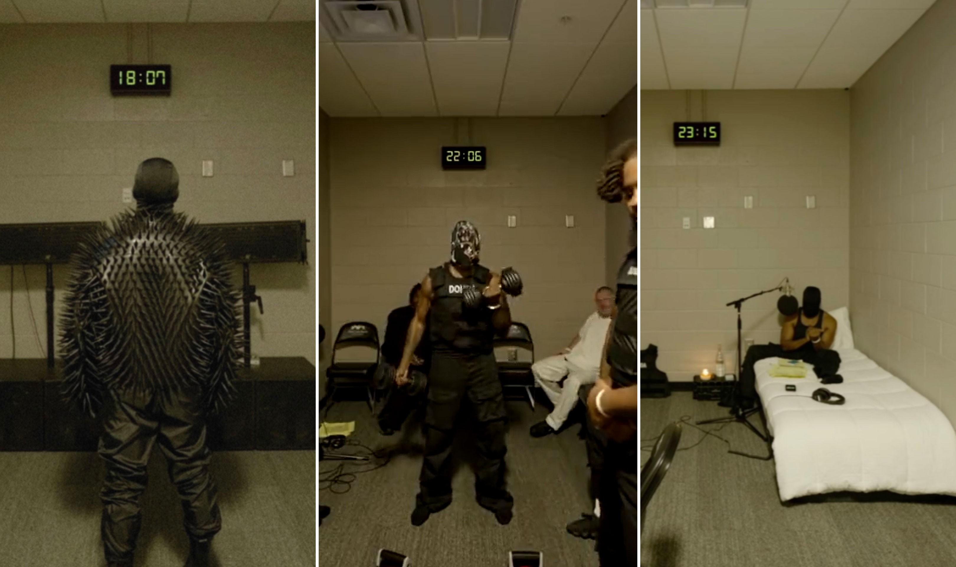 Kanye West faz live com preparativos para audição de 'Donda'