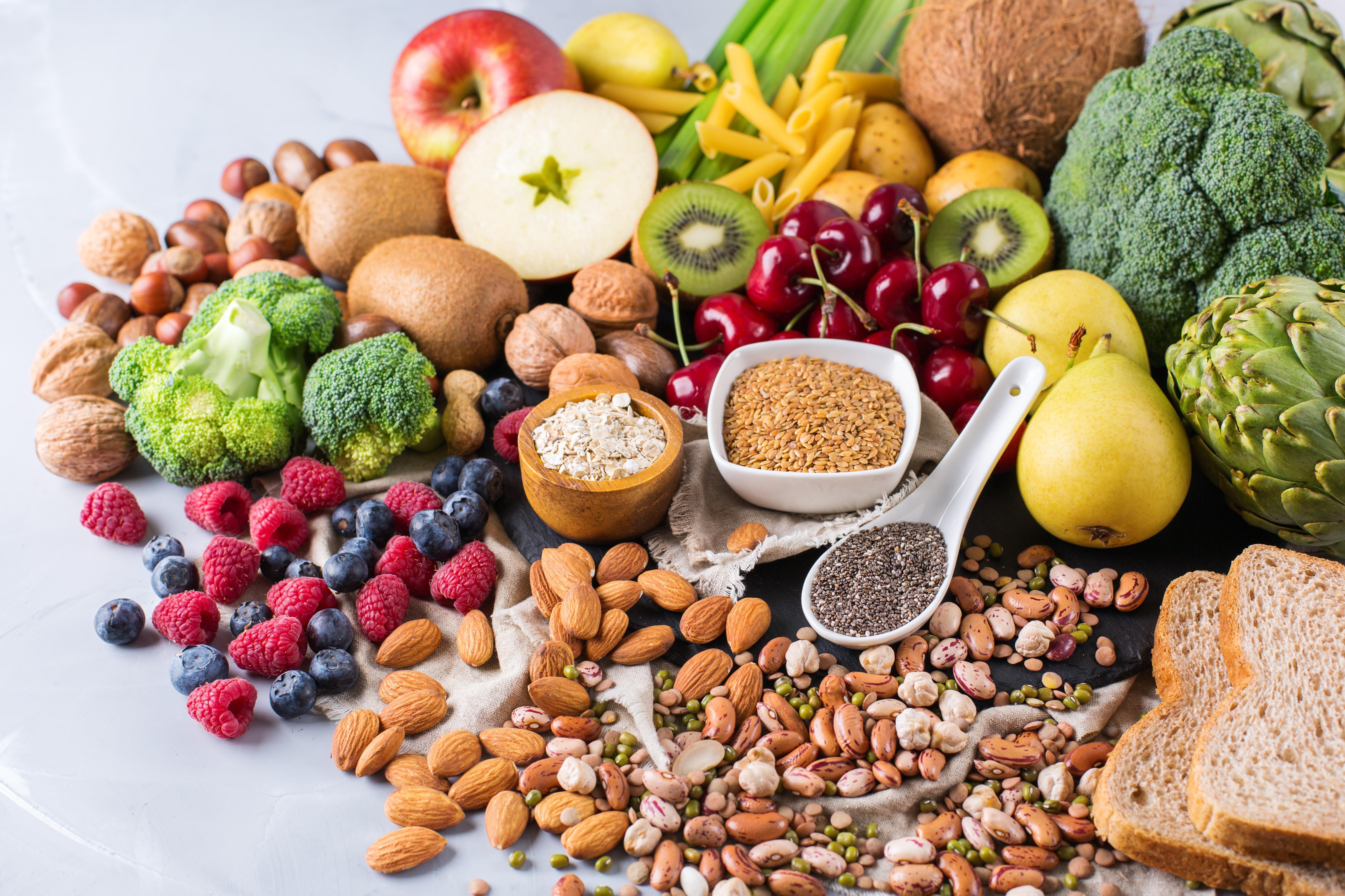 Alimentação saudável vegetariana (Foto: Getty Images)