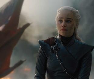 Emilia Clarke em cena como Daenerys no quinto episódio da oitava temporada de 'Game of Thrones' | HBO