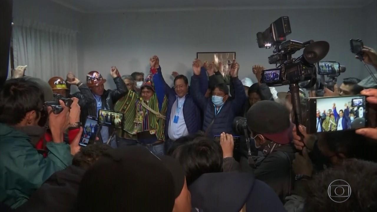 Candidato de Evo Morales deve vencer a eleição na Bolívia