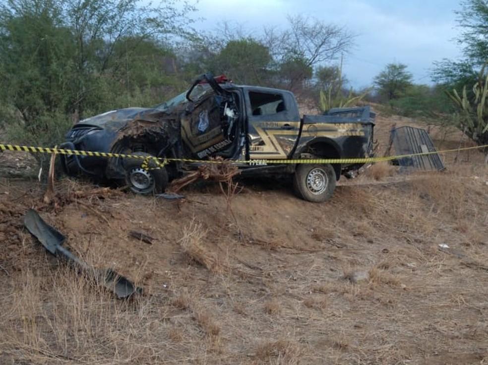 Policial penal morreu em acidente durante escolta de preso no RN — Foto: Redes sociais