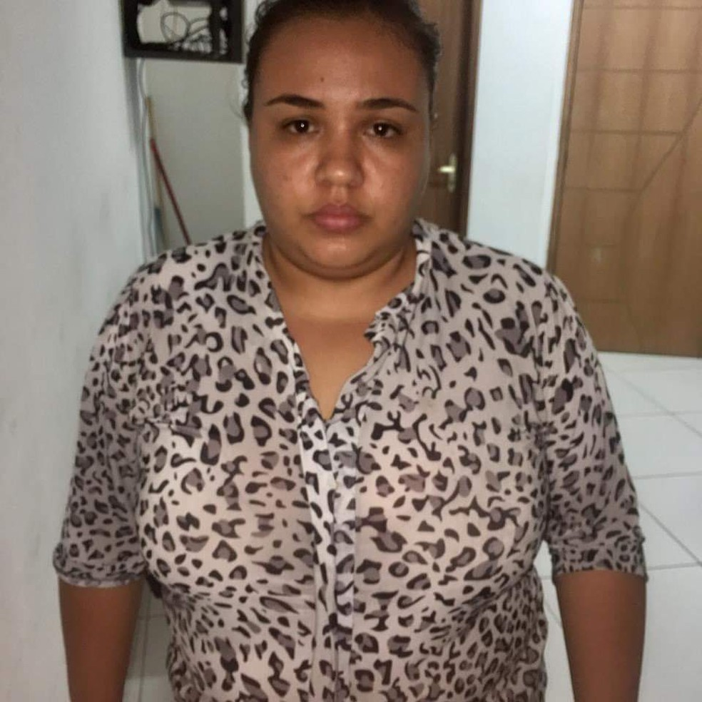 Babá é presa suspeita de envenenar gêmeas de quatro anos no Maranhão — Foto: Divulgação/ Polícia