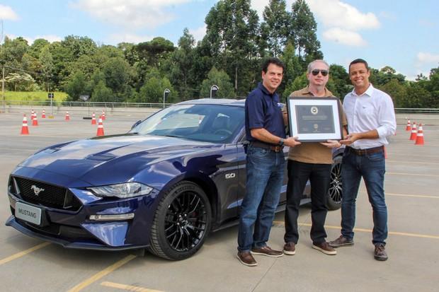 Primeiro comprador do Ford Mustang (Foto: Divulgação)