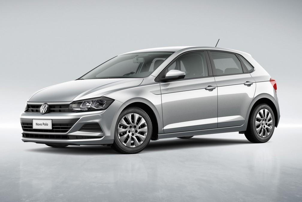 Volkswagen Polo ganha versão para PCD, Sense — Foto: Divulgação/Volkswagen