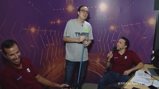 Aquecimento: pré-jogo da NBA debate as varridas e analisa os jogos da rodada