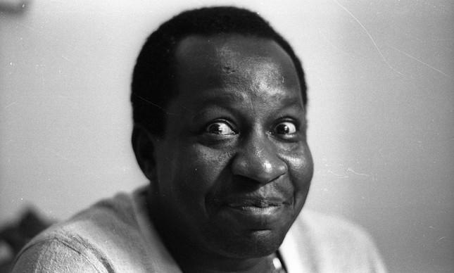 Antônio Carlos Bernardes Gomes, o Mussum, em foto tirada no dia 13 de junho de 1979