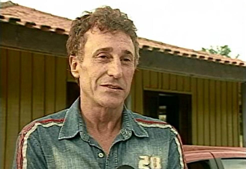Tenente-coronel Valdir Copetti Neves, em 2010.  — Foto: Cedoc RPC