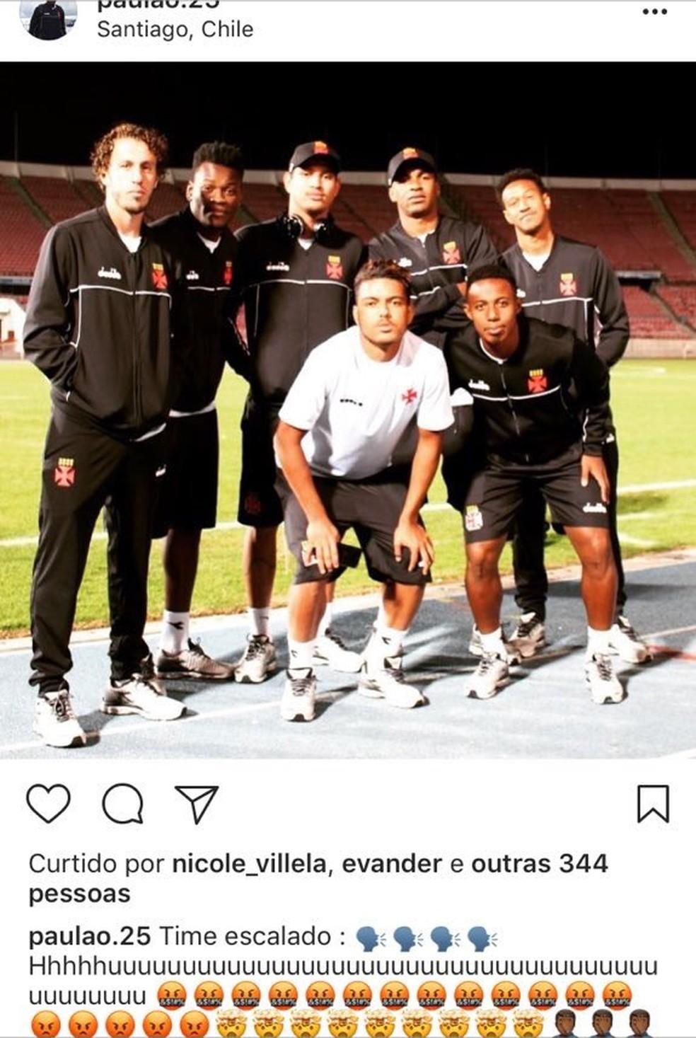 """Uuuuuuu""""  jogadores do Vasco publicam foto 92224be5e1bde"""