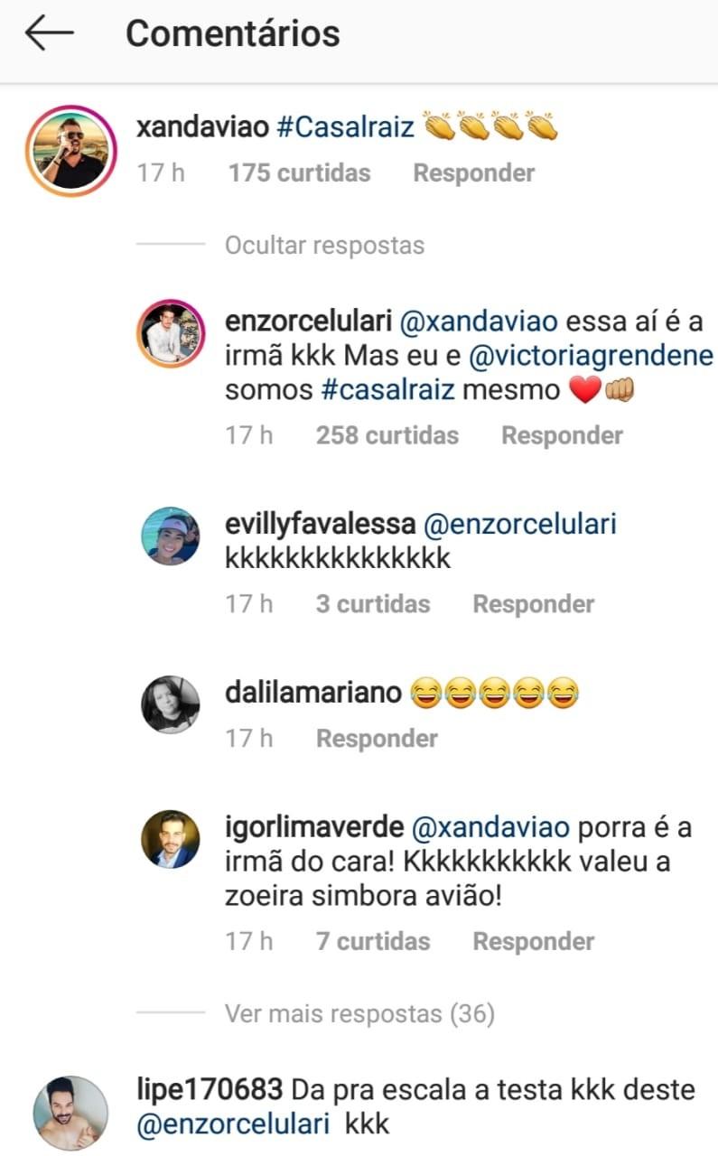 Xand Avião faz confusão com filhos de Claudia Raia (Foto: Reprodução/Instagram)