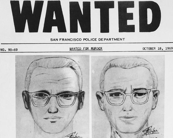 Retrato feito pela polícia de São Francisco sobre o assassino do Zodíaco (Foto: Getty Images)