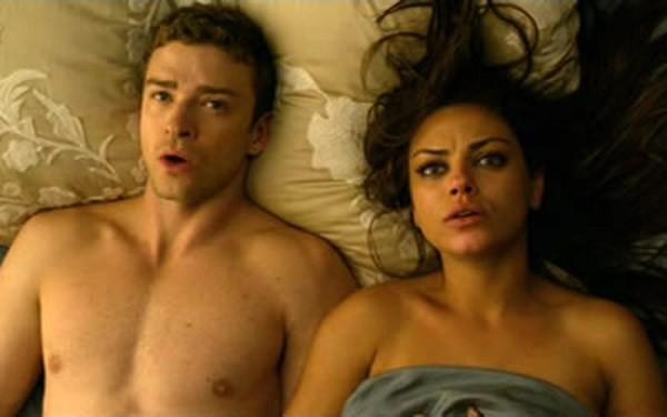 Justin Timberlake e Mila Kunis no filme Amizade Colorida (2011) (Foto: Divulgação)