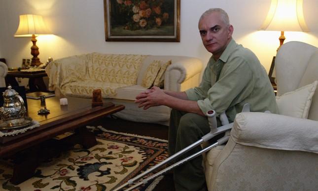 Carlos Gustavo Santos Pinto Moreira, o Grelha, em 2004