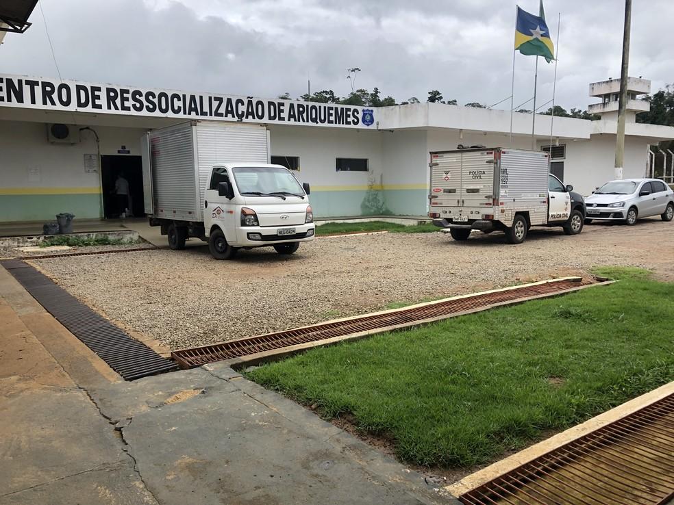 Outros 16 presos dividiam a cela com Fabiano Andreotti e participação será investigada, diz Polícia — Foto: Jeferson Carlos/G1