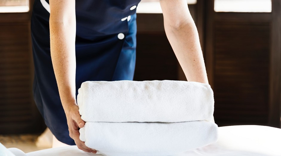 Serviços; hotel; faxina (Foto: Pexels)