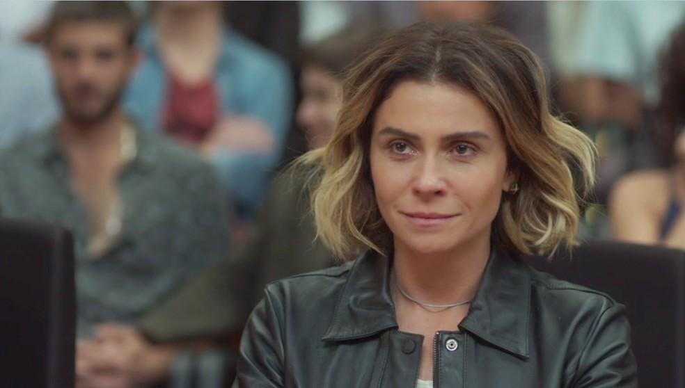 Luzia se emociona com a atitude de Beto (Foto: TV Globo)