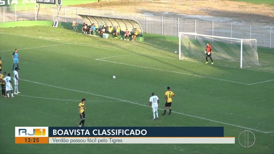 Boavista passa pelo Tigres e avança às semifinais na Copa Rio