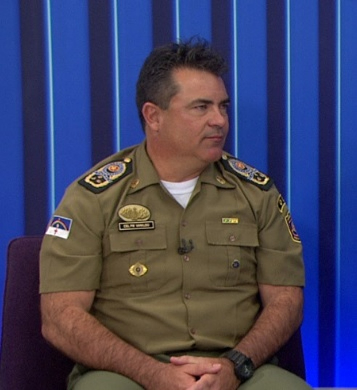 Comandante da PM de Pernambuco, coronel Vanildo Maranhão, pediu exoneração, segundo o governo do estado, e deixa o cargo — Foto: Reprodução/TV Globo