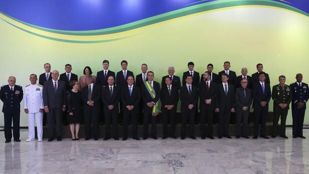 Ministros do governo da Jair Bolsonaro (Foto: Valter Campanato/Agência Brasil)