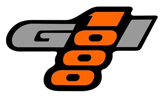 Logotipo do Gol 1000 fazia alusão ao motor 1-litro (Foto: Reprodução)
