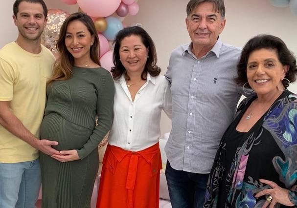 Sabrina Sato e família (Foto: Instagram/Reprodução)