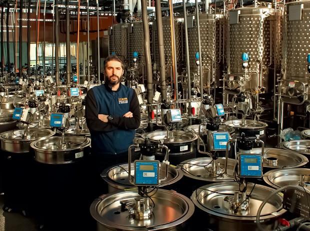 O pesquisador brasileiro Raul Cauduro Girardello, da vinícola UC Davis (Foto: Divulgação)
