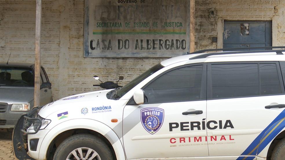 Transferência de presos já foi feita (Foto: Jeferson Carlos/G1)