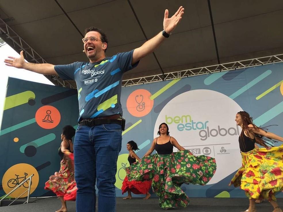 -  Fernando Rocha estará no Bem Estar Global em Porto Velho  Foto: Reprodução/Instagram