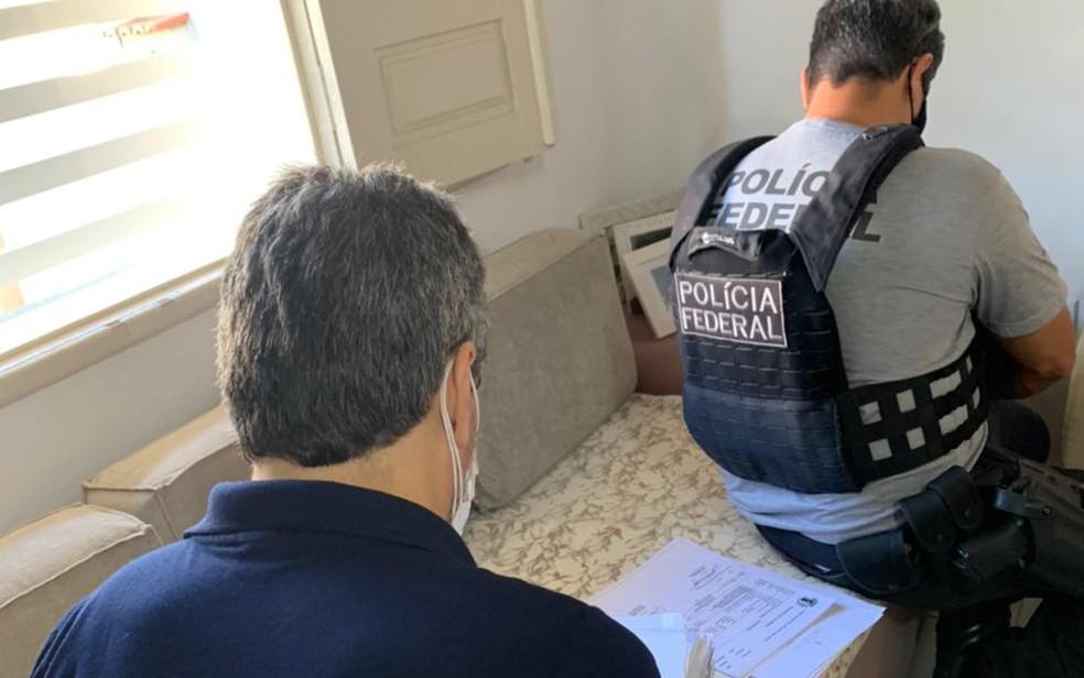 Operação Nefanda foi deflagrada nesta quarta-feira — Foto: Divulgação/Polícia Federal