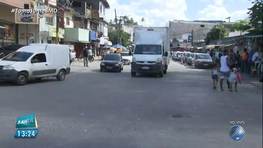 Após alterações, ruas em São Cristóvão começam a ter mão única