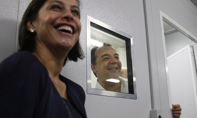 Adriana Ancelmo e Sérgio Cabral
