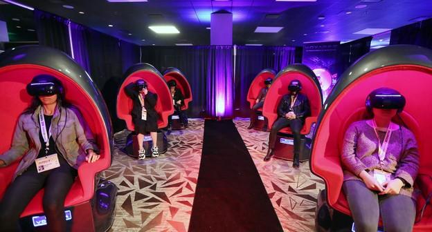 Cinema com realidade virtual, durante SXSW 2019, um dos maiores eventos de inovação e economia criativa do mundo