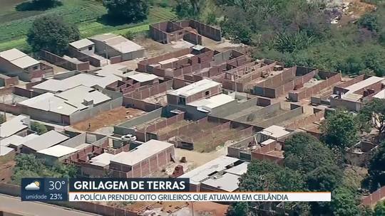 Polícia prende oito grileiros de terra que atuavam em Ceilândia