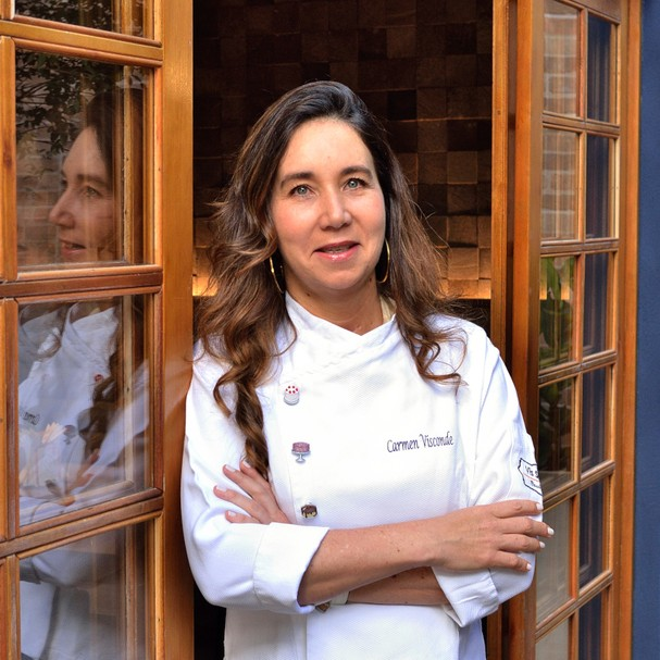 Chef Carmen Visconde, da Vis Savour Boulangerie, em SP (Foto: Divulgação)