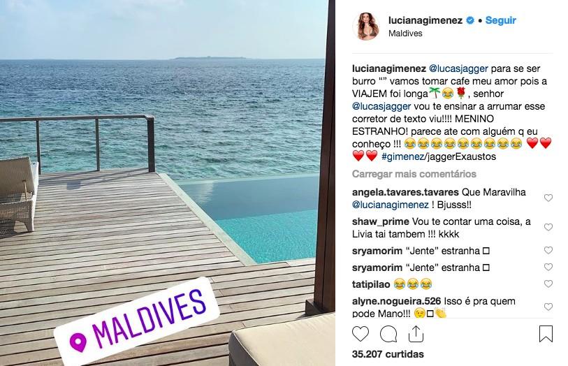 Post de Luciana Gimenez (Foto: Reprodução / Instagram)
