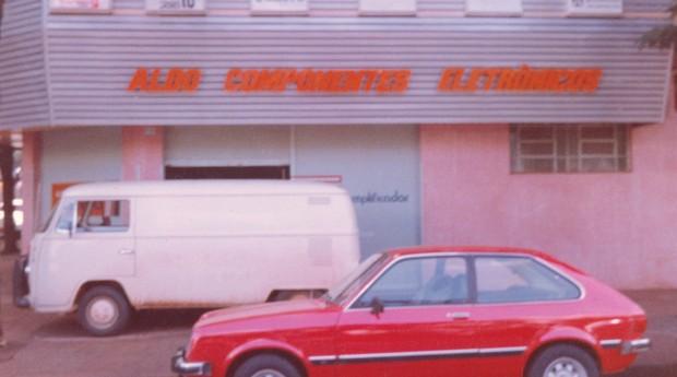 Aldo loja anos 1980 (Foto: Acervo Pessoal)