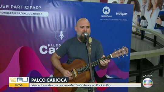 Começa nesta segunda-feira a retirada dos ingressos para o Rock in Rio em estande no Metrô da Carioca