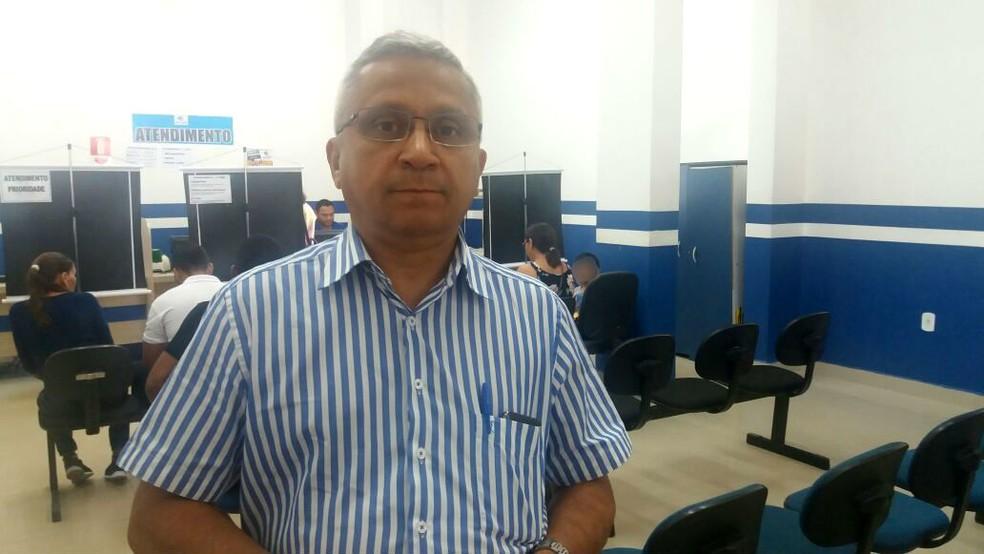 Artur Sotão, diretor de bilhetagem do Setap (Foto: Jéssica Alves/G1)