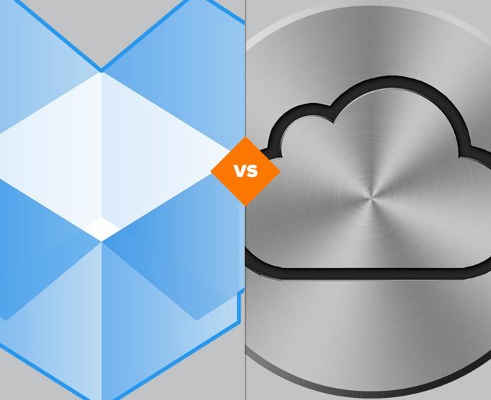 Dropbox x iCloud: confira o resultado da batalha de serviços de nuvem (Foto: Arte/TechTudo)