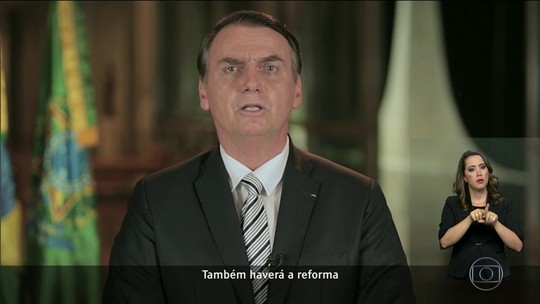 Bolsonaro volta às redes sociais para defender a reforma da Previdência