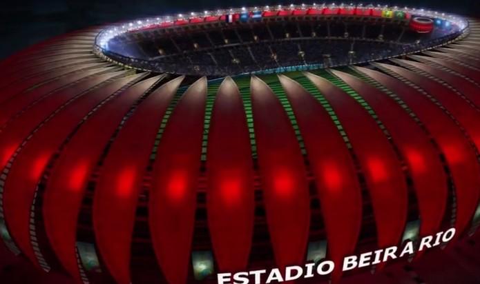 Estádio do Beira Rio (Foto: Reprodução / YouTube)