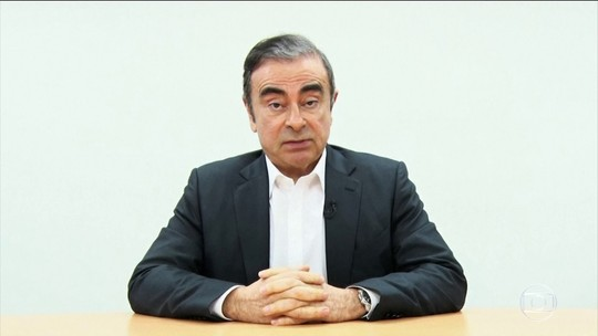 Em vídeo, Carlos Ghosn afirma que é inocente e acusa diretores da Nissan de traição
