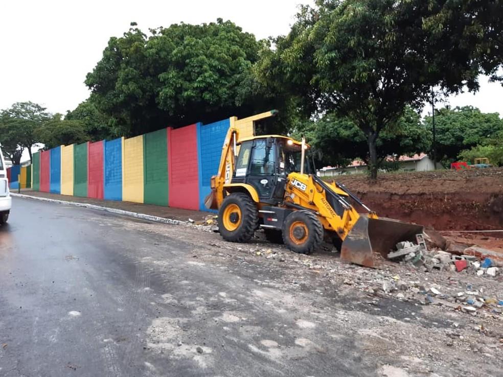 Prefeitura de Marília emitiu uma nota na noite de segunda (10) com balanço dos estragos — Foto: Prefeitura de Marília/Divulgação