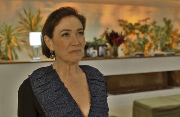 Valentina (Lilia Cabral) será pressionada pelo filho: Gabriel (Bruno Gagliasso) perguntará se a mãe está envolvida no atentado contra ele (Foto: TV Globo)