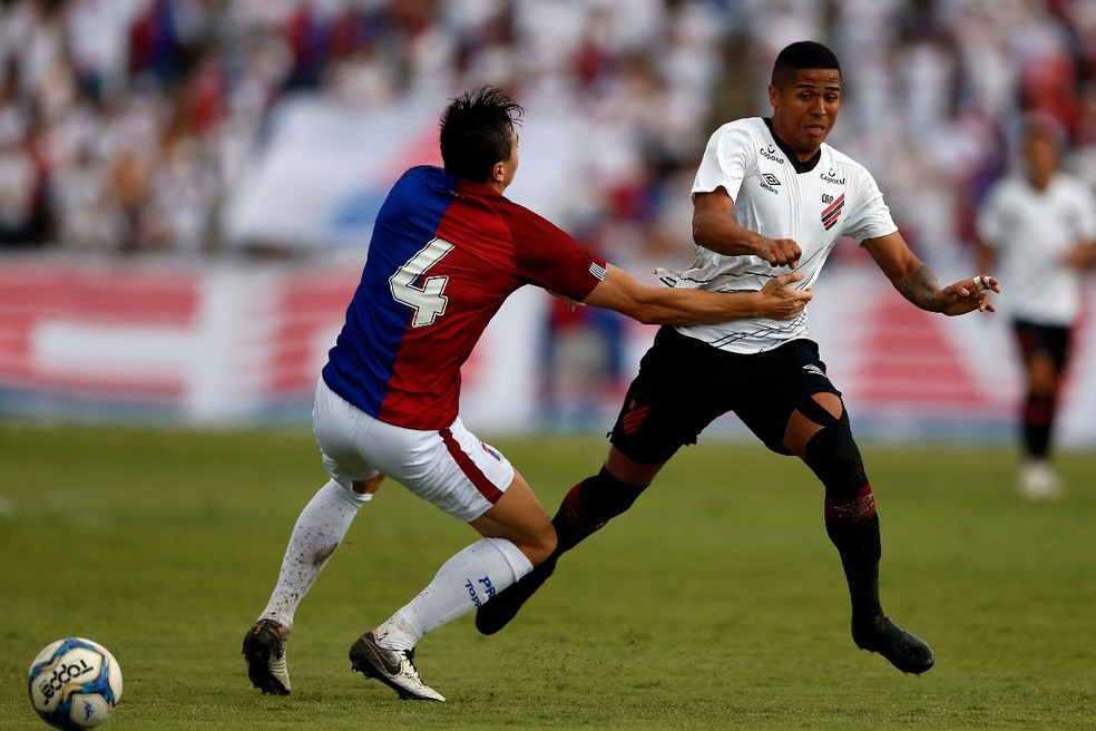 Athletico depende de uma vitória e uma combinação de resultados — Foto: Albari Rosa/Gazeta do Povo